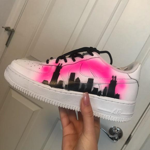 Nike Shoes | Custom Air Force Airbrush
